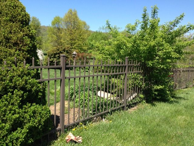aluminum fences help property owners avoid annual maintenance costs fairfax va