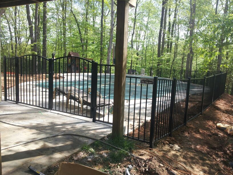 Aluminum Fence Pool