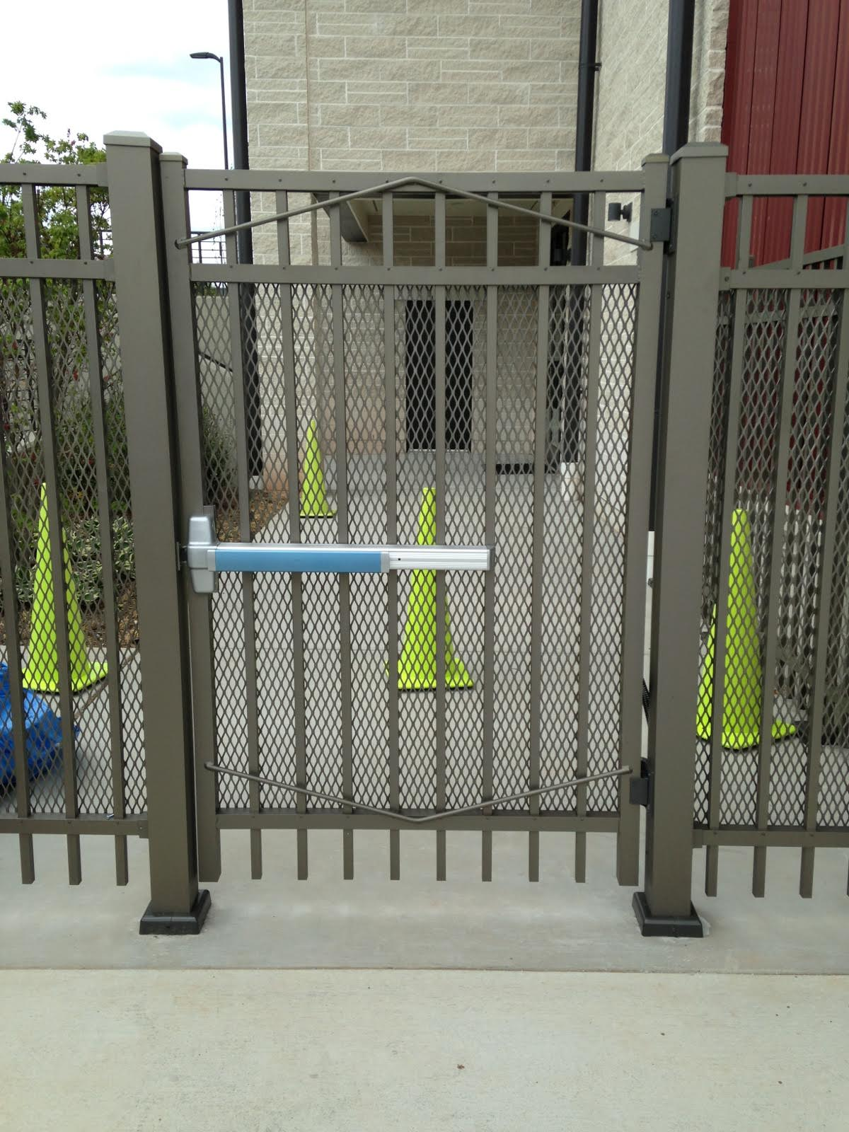 Pedestrian Security Gate