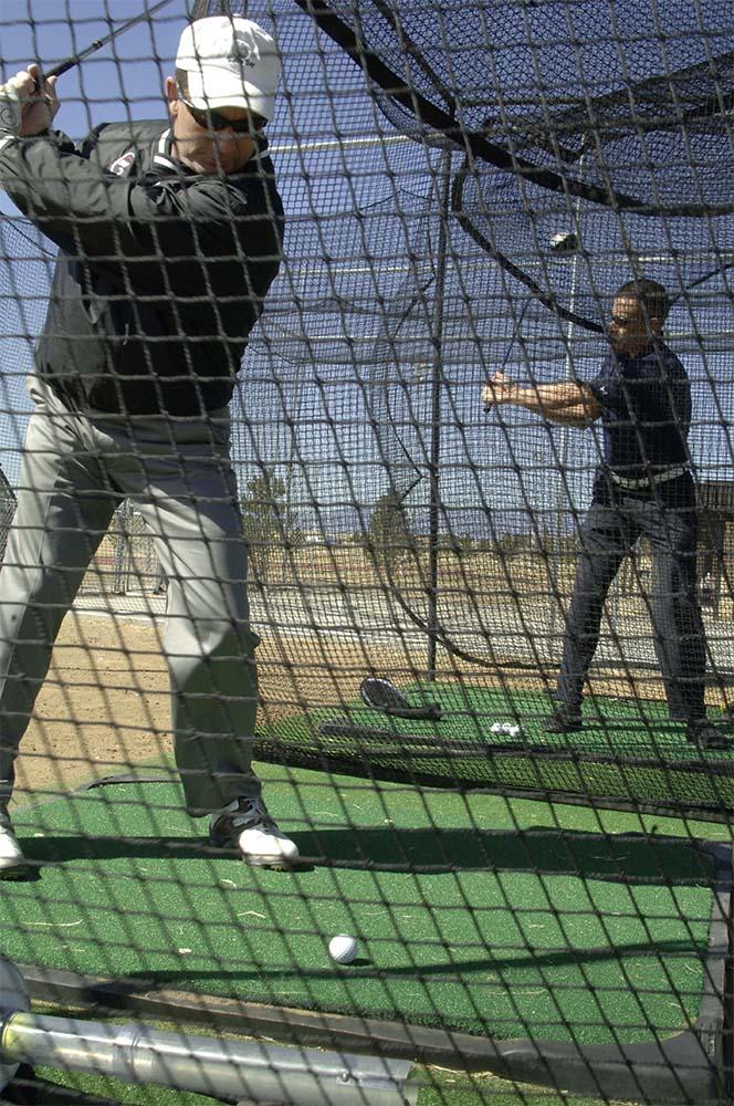golf-cage